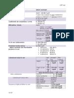 Valori Normale Dozari LP Biochim Sem II