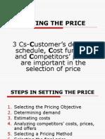 Lec9-Setting the Price