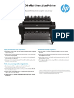 HP Plotter T2500 Data Sheet