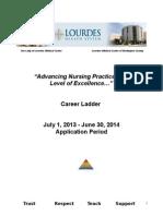 2013 2014 Career Ladder Outline