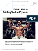 HIML-4 Maximum Muscle Building Workout System _ Muscle & Strength