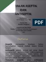 Aseptik- Antiseptik