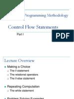 L4 - Control Flow Statements I