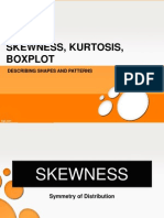 Take 9 - Skewness, Kurtosis, Boxplot