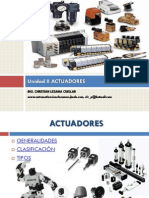 control y automatizacion, actuadores