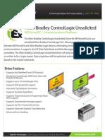 Allen Bradley ControlLogix Unsolicited-datasheet