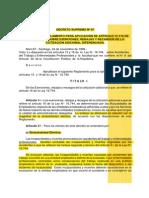 D.S. N° 67_ Cotización Adicional