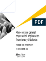 Plan contable general empresarial