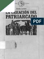 Gerda Lerner La Creación Del Patriarcado