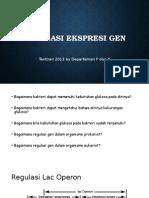 Regulasi Ekspresi Gen