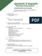 Relatório de Inspeção de Caldeira Amadek