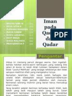 5 Iman Pada Qadha Dan Qadar