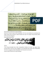 Mempererat Tali Persaudaraan-khutbah