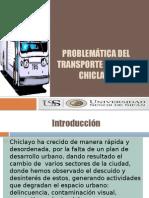 Problemática Del Transporte Publico Chiclayo