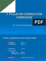 Semana 1-2_Flujo Conductos Cerrados_Pérd de Carga