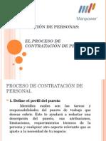 3° Proceso de contratación, Reclutamiento y Selección.ppt