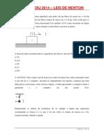 Lista UERJ Leis de Newton 3