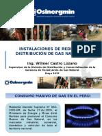 Instalación de Redes de GN en Huancavelica-WCL