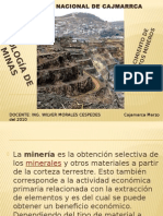 Geologia Minas I