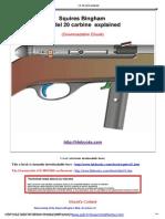 Squires Bingham Mod 20 Carbine Explained