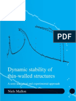 Dynamic Stability of Thin-walled Structures
