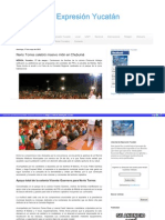 17-05-2015 Nerio Torres celebró masivo mitin en Chuburná