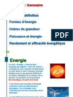 3 Notion d Energie