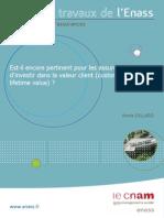 Mba Enass 2014 Dillard Valeur-client