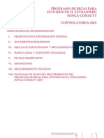 Becas Estudios Extranjero 20151