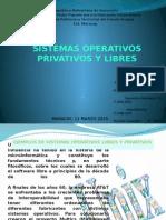 Sistemas Operativos Libres y Privados