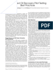 Enhanced Oil Recovery Best Practices SPE 118055 PA