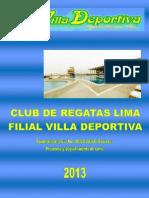 Plan de Contingencia Villa Deportiva