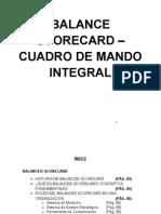 Balanced Scorecard - Cuadro de mando integral