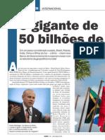 O Gigante de 50 Bilhoes BRICS