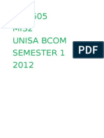 Inf1505 Study Notes 2012 Final