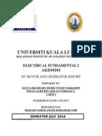 Electrical Fundamental Practical Dc Genarator