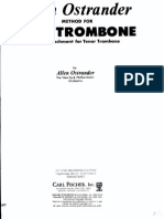 Ostrander-Method for Bass Trombone and F Attachment for Teno