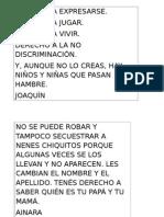 Derechos Del Niño 2014