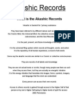 Akashic Records Attunement