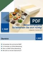 BASF Bewerbungsguide
