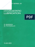 Hydrostatic Lubrication 1992