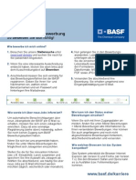 BASF Quickguide Onlinebewerbung