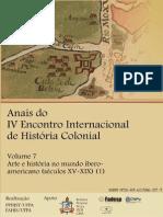Vol. 7 (Part.1) - Arte e História No Mundo Ibero-Americano - ANAIS IV EIHC