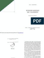 Anzenbacher 1992 - Wprowadzenie Do Filozofii