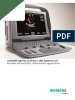 Siemens Acuson Cypress Plus Brochure