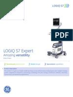 Ultrasound EMEA Logiq S7 - Expert Data Sheet - Zowel ANE & MSK