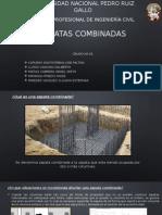 DISEÑO DE ZAPATAS COMBINADAS