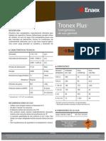 Ficha Técnica Tronex
