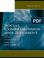 Social Comrehension and Judement