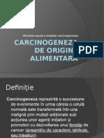 Carcinogeneza Alimentara Leca Radu